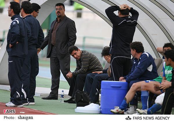 گزارش تصویری  بازی استقلال  و سایپا در لیگ برتر امیر قلعه نوعی